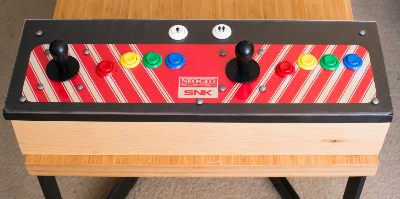 Neo geo mvs control panel joystick conversion project showcase youtube twitter sciox Image collections