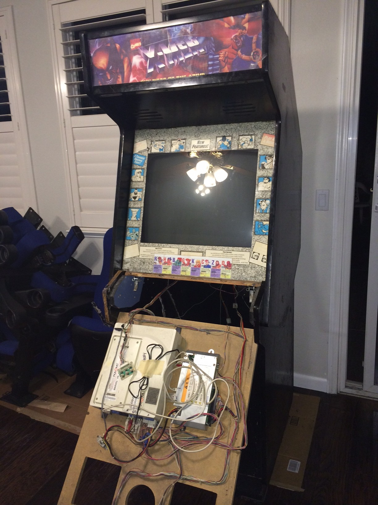 I ... & Dynamo HS-9 Cab Restore - Project Showcase - Arcade-Projects Forums